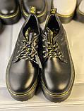 Туфли из натуральной кожи черного цвета, фото 7