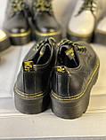 Туфли из натуральной кожи черного цвета, фото 4