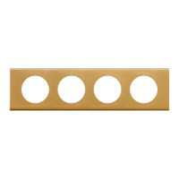 Рамка - Програма Celiane - 4 посади - золото