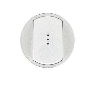 Celiane Лицьова панель вимикача/перемикача (з підсвіткою/індикацією) 1-клавішного Білий