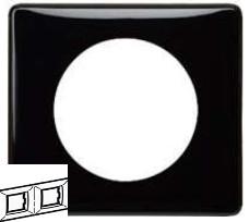 Рамка 2 пост Legrand Celiane - Черный лак