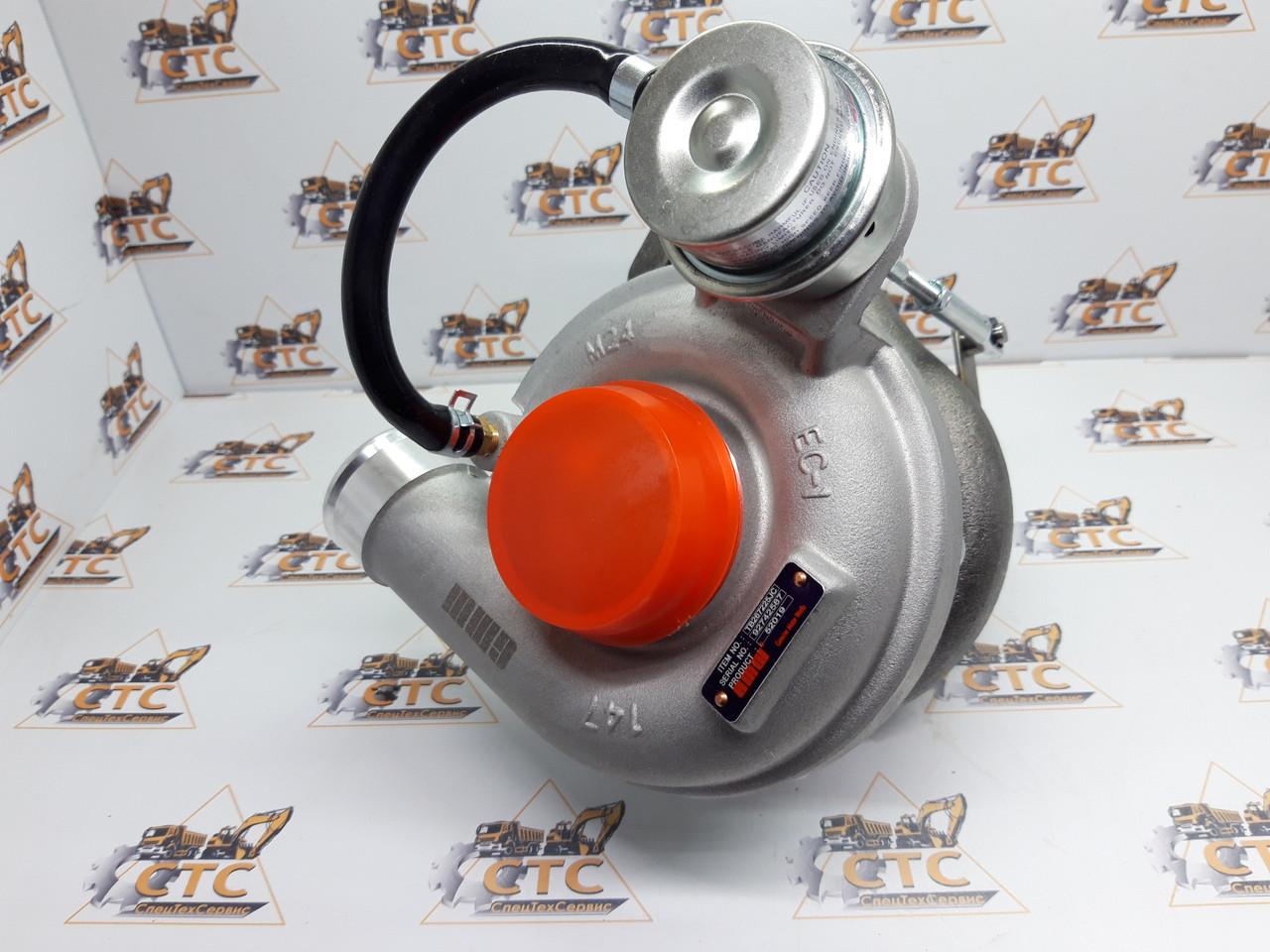 Турбокомпрессор для двигателя Perkins AK на JCB 3CX/4CX (02/202400, 02/201880)