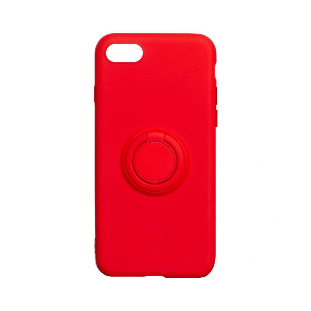 Чехол Ring Color for Iphone 7 / 8 / SE 2020 Цвет Красный
