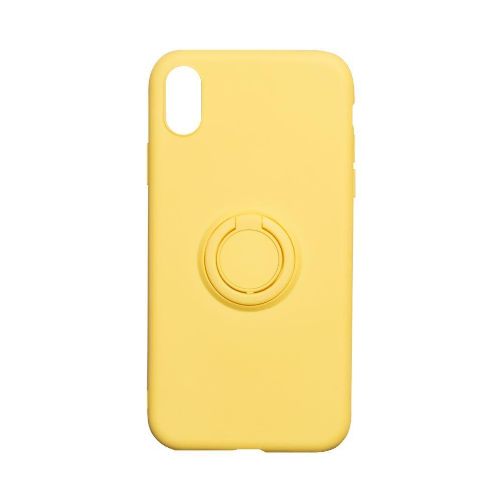 Чехол Ring Color for Iphone Xr Цвет Жёлтый