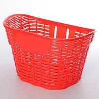 Кошик AS1911 (1шт) для 18-20д,пластик,розмір 26-17-19,5 см, червоний