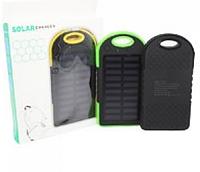 Портативное зарядное устройство Power Bank SOLAR 30000mAh с солнечной зарядкой повербанк внешний аккумулятор.