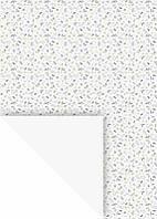 """Папір з малюнком """"Гілочки"""", Білий, одностороння, 21x29,7см, 300г/м2, Heyda"""