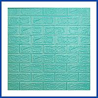 Самоклеющиеся декоративные 3Д панели под Кирпич 700*770*5мм 3d для стен в ванную спальню и кухню самоклейка 2