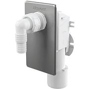 Сифон для стиральной машины ALCA PLAST хром.внутр.APS3