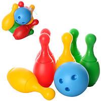"""Іграшка """"Набір для гри в боулінг ТехноК"""""""