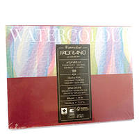 Альбом-склейка для акварели A5 Fabriano Watercolor 18х24см 200г/м2 среднее зерно 20л (8001348173502)