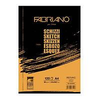 Альбом-склейка для ескизов A4 Fabriano Schizzi Sketch 90г/м2 120л (8001348171522)