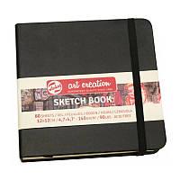 Скетчбук Talens Art Creation 12х12см 140г/м2 80л черный (8712079383527)
