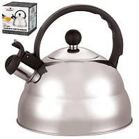 Чайник SS 2.5л двойное дно МH-0298 (12шт)