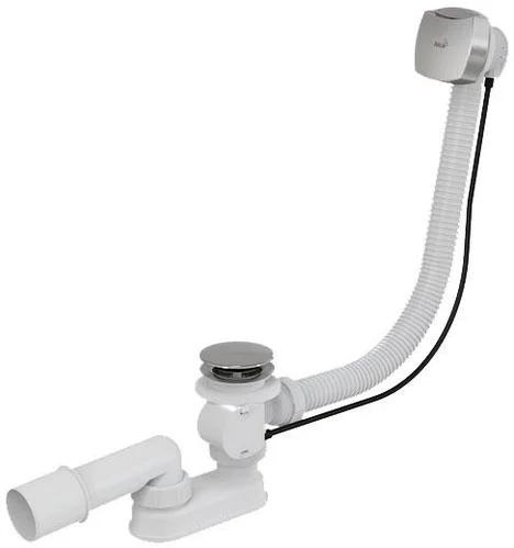 Сифон Alca Plast A51CRM для ванны автомат
