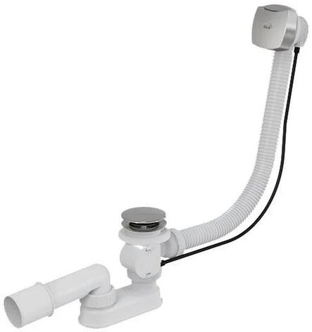 Сифон Alca Plast А55К-100 см для ванны автомат, фото 2