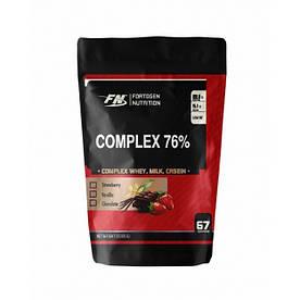 Протеїн Fortogen Nutrition Protein Complex 76%, 2 кг Шоколад