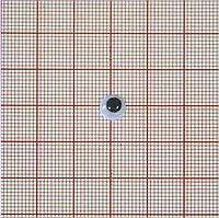 Глаз MR-7, круглый, белый, черный подвижный зрачок (10 шт)