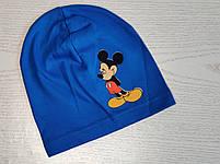 Трикотажная шапка для мальчика с Микимаус Размер 48-52 см Возраст 3-7 лет, фото 7