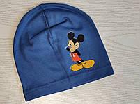 Трикотажная шапка для мальчика с Микимаус Размер 48-52 см Возраст 3-7 лет, фото 6