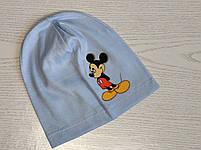 Трикотажная шапка для мальчика с Микимаус Размер 48-52 см Возраст 3-7 лет, фото 5