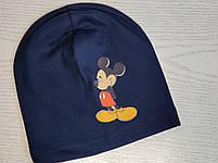 Трикотажная шапка для мальчика с Микимаус Размер 48-52 см Возраст 3-7 лет, фото 4