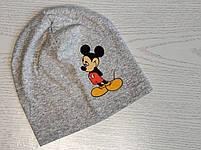 Трикотажная шапка для мальчика с Микимаус Размер 48-52 см Возраст 3-7 лет, фото 3