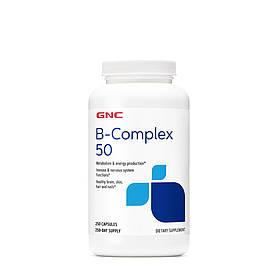 Витамины и минералы GNC B-Complex 50, 250 капсул