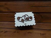 Коробка для небольшого подарка любимому человеку | Индивидуальное оформление подарков! Размер 6,5*8,5*4см