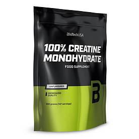 Креатин BioTech 100% Creatine Monohydrate, 500 грамм (пакет)