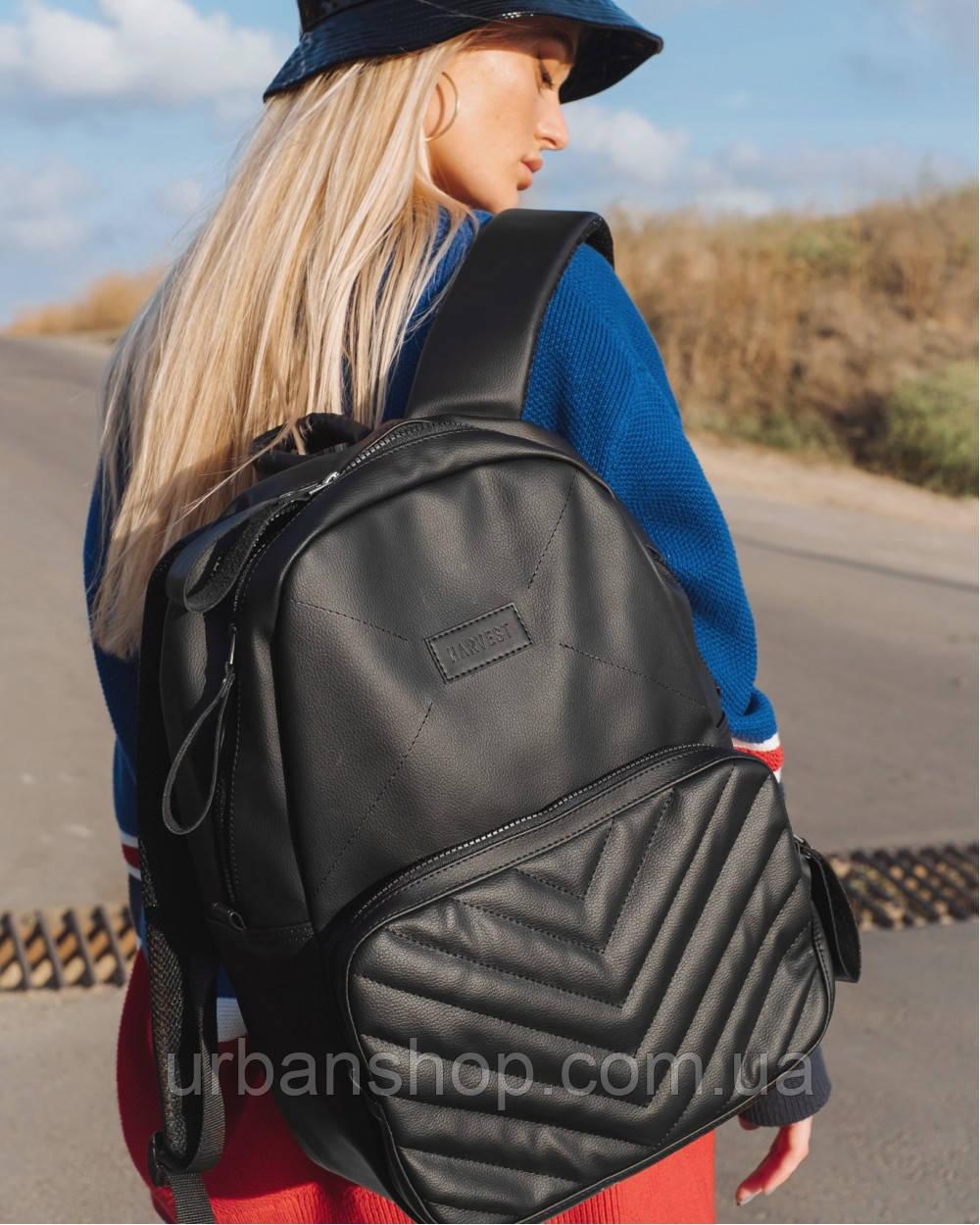 Рюкзак Harvest сумка універсальна BERRY LARGE ЧОРНИЙ (НОУТБУК 15,6)