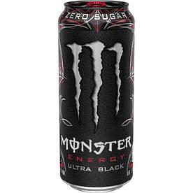 Напитки Monster Energy Ultra Black, 500 мл