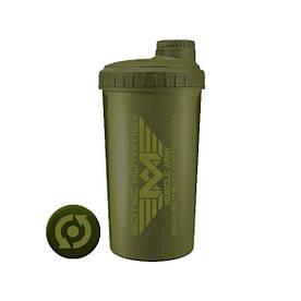 Шейкер Scitec Muscle Army, 700 мл - темно-зелений