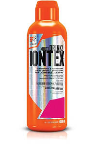 Изотоники Extrifit Iontex Liquid, 1 литр Зеленое яблоко