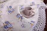 Скатерть Праздничная с Кружевом 130-175 «Beautiful» Овальная №2, фото 2