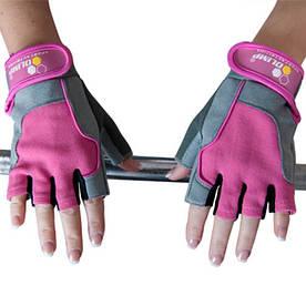 Екіпіровка Рукавички жіночі Olimp Hardcore Fitness One, рожеві XS