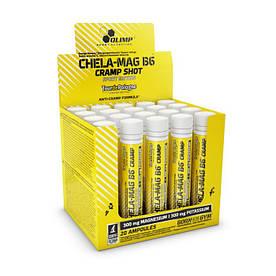 Витамины и минералы Olimp Chela-Mag B6 Cramp Sport Edition Shot 20*25 мл Вишня