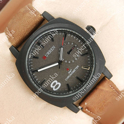 Популярные наручные часы Curren Black 802