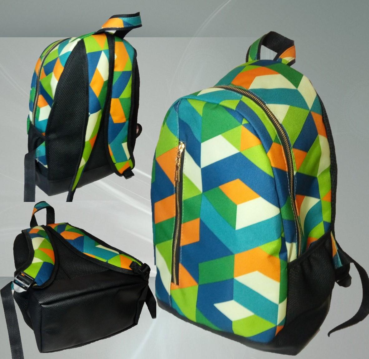 Рюкзак женский ,принт Купить оптом рюкзаки. Рюкзаки сумки опт розница