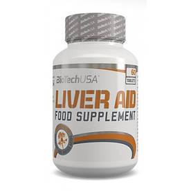 Натуральна добавка BioTech Liver Aid, 60 таблеток