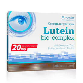 Натуральна добавка Olimp Lutein Bio-Complex, 30 капсул