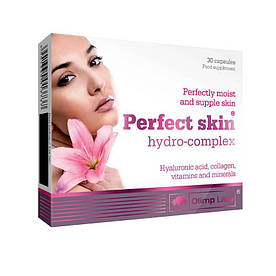 Натуральна добавка Olimp Perfect Skin Hydro, 30 капсул