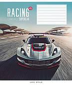 Тетрадь 12 л клетка Школярик Racing Supercar 2857