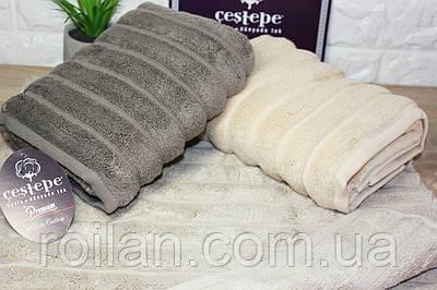Банные турецкие полотенца Cestepe Капучино