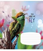 Тетрадь 18 л клетка Школярик You make me fly 2846