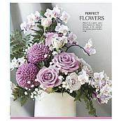 Тетрадь 36 л клетка Школярик Perfect flowers 2820