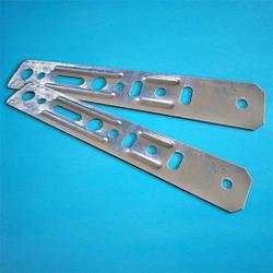 Анкерная пластина EXTRA универсальная без поворотного узла 150х0,85 (от 500 шт.)