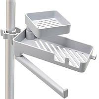 Держатель на кран для мыла губки тряпки STENSON 25 х 8 х 9 см (TL00155)