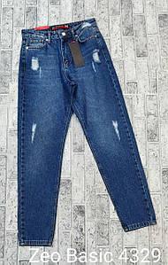 Модные джинсы баллоны коттон Турция Zeo Basic 4329 (34-40)