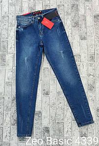 Эластичные женские джинсы-момы Турция Zeo Basic 4339 (34-40)